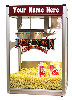 Customized Movie Pop 14 popcorn machine
