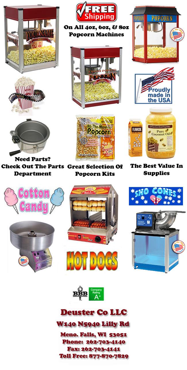 Paragon Popcorn Machines Amp Popcorn Popper Supplies